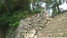 登り石垣のような石垣…