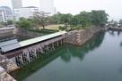 鞘橋と水堀