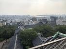 天守より紀ノ川、和歌山湾方面を望む…