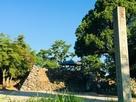 石碑と天守台