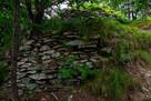 郭Ⅰ南西の石垣