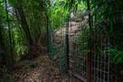 登城口の防獣柵入口