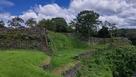 岡城 西の丸 石垣群…