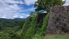 岡城 三の丸 高石垣…