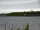 水産試験場から見た遠景