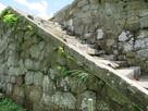 天守台上部への階段①