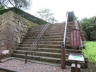 天守櫓への階段…
