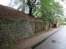 巽櫓台から瓦御門方向玄関前…