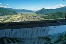 郭2の物見櫓からの眺望…