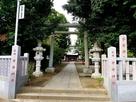 子安神社(石田為久の守護神)…