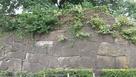 四谷門跡の石垣…