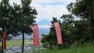 本丸からの富士…