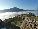 城跡と雲海