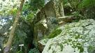 信長の隠れ岩 朽木三ッ石…