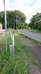 県道側の石碑