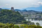 成田山 名古屋別院 大聖寺からの眺め…