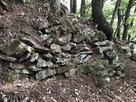 竪堀の石垣