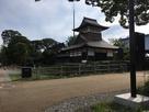 勝興寺の櫓風の建物…