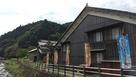 熊川城遠景 宿場から…