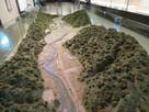 朝倉氏遺跡資料館の一乗谷復元模型…