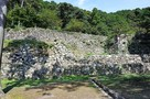 安土城④ 伝羽柴秀吉邸跡の石垣…