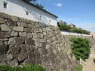伏見櫓下の長く続く石垣…