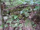 登城途中の石積…