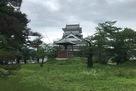 月岡神社から見た模擬天守
