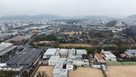 姫路城、東側上空100mより空撮…