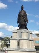 鍋島直正公銅像…