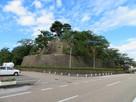 丸岡城の丘陵