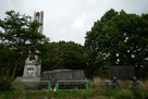 ユカルの塔とシャクシャイン像跡