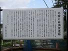 元館跡の案内板