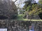 竪堀と登り石垣…