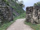 井戸曲輪の門跡…