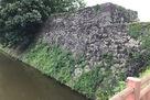 二の丸堀の石垣…