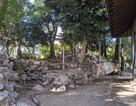 東埋門跡の石垣…