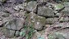 岩石城 馬場 石垣…