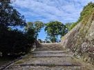 石段と門跡