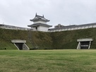 富士見櫓(清明館側から)…