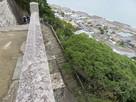 石段と駿河湾