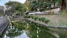 上田藩主居館前の堀跡…