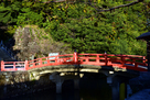 夕陽の神橋