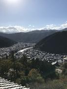 天守から見た長良川
