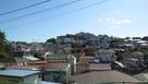 城址西側からの眺望