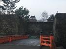 二ノ丸から廊下橋と天守…