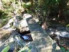 登城路にかかる小橋…