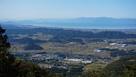 横山城~彦根の稜線…