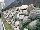 大坂城三ノ丸北側石垣(移築復元)