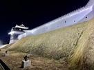 二之丸丑寅櫓と土塀 ライトアップ…